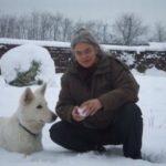 Birgit Jütten im Winter